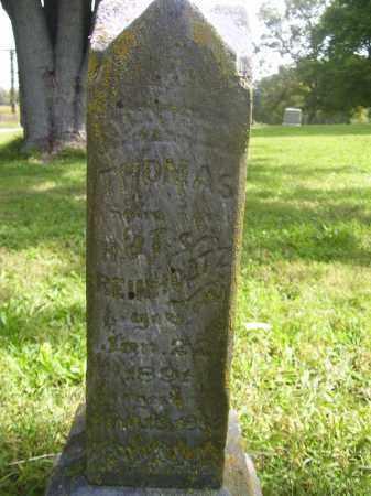 REINHOLTZ, THOMAS - Tazewell County, Illinois | THOMAS REINHOLTZ - Illinois Gravestone Photos