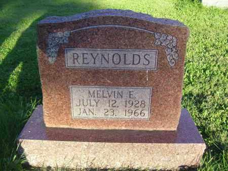 REYNOLDS, MELVIN E - Tazewell County, Illinois | MELVIN E REYNOLDS - Illinois Gravestone Photos