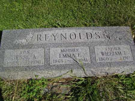 REYNOLDS, WILLIAM F - Tazewell County, Illinois | WILLIAM F REYNOLDS - Illinois Gravestone Photos