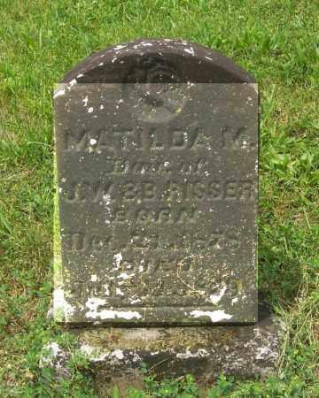 RISSER, MATILDA M - Tazewell County, Illinois | MATILDA M RISSER - Illinois Gravestone Photos