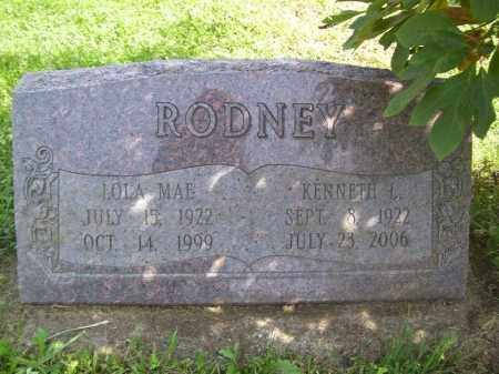 RODNEY, LOLA MAE - Tazewell County, Illinois | LOLA MAE RODNEY - Illinois Gravestone Photos