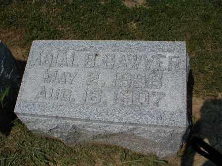 SAWYER, ABIAL BUSS - Tazewell County, Illinois | ABIAL BUSS SAWYER - Illinois Gravestone Photos