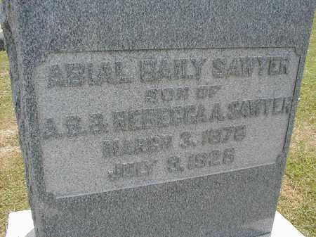 SAWYER, ABIAL BAILY - Tazewell County, Illinois | ABIAL BAILY SAWYER - Illinois Gravestone Photos