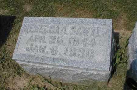BAILEY SAWYER, REBECCA - Tazewell County, Illinois | REBECCA BAILEY SAWYER - Illinois Gravestone Photos