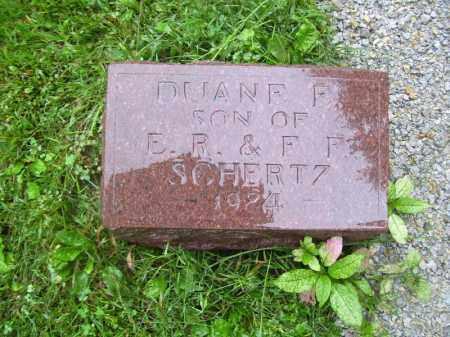 SCHERTZ, DUANE F - Tazewell County, Illinois | DUANE F SCHERTZ - Illinois Gravestone Photos