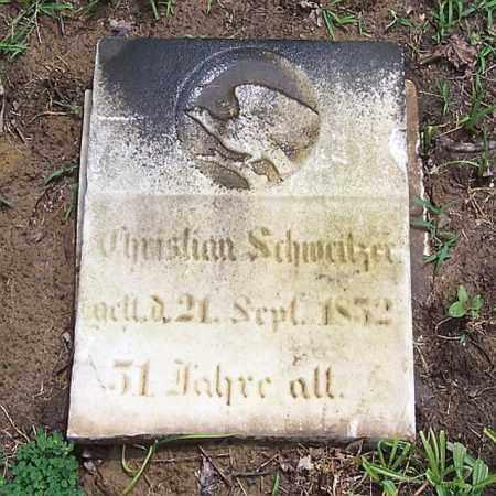 SCHWEITZER, CHRISTIAN - Tazewell County, Illinois | CHRISTIAN SCHWEITZER - Illinois Gravestone Photos