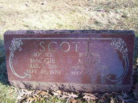 SCOTT, ALBERT - Tazewell County, Illinois | ALBERT SCOTT - Illinois Gravestone Photos