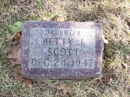 SCOTT, BETTY J - Tazewell County, Illinois | BETTY J SCOTT - Illinois Gravestone Photos