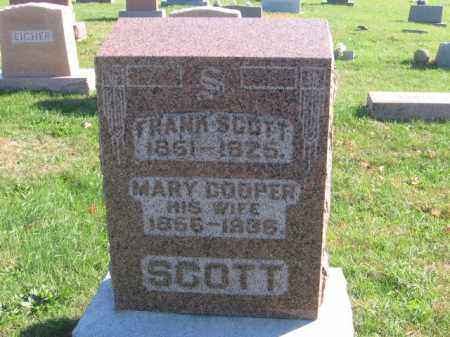 SCOTT, FRANK - Tazewell County, Illinois | FRANK SCOTT - Illinois Gravestone Photos