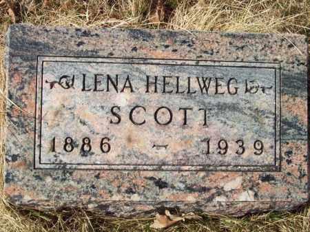 SCOTT, LENA - Tazewell County, Illinois   LENA SCOTT - Illinois Gravestone Photos
