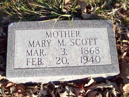 SCOTT, MARY M - Tazewell County, Illinois   MARY M SCOTT - Illinois Gravestone Photos