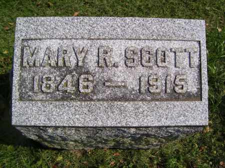 SCOTT, MARY R - Tazewell County, Illinois | MARY R SCOTT - Illinois Gravestone Photos