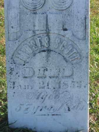 SCOTT, MOSES - Tazewell County, Illinois | MOSES SCOTT - Illinois Gravestone Photos