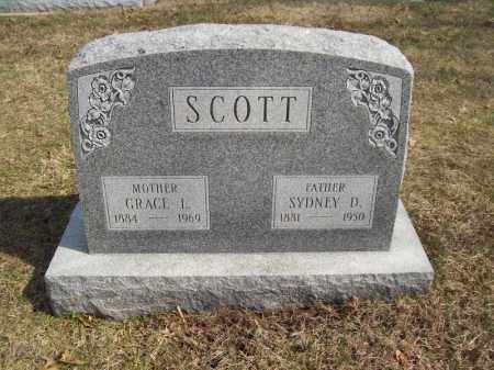SCOTT, GRACE L - Tazewell County, Illinois | GRACE L SCOTT - Illinois Gravestone Photos