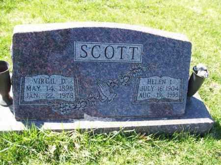 SCOTT, HELEN L - Tazewell County, Illinois | HELEN L SCOTT - Illinois Gravestone Photos