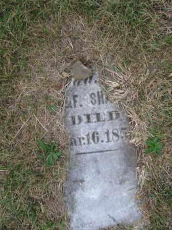 SHAFER, INFANT - Tazewell County, Illinois | INFANT SHAFER - Illinois Gravestone Photos