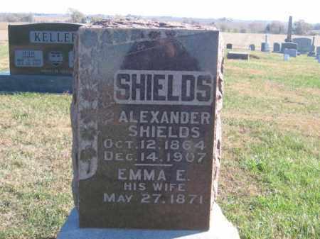 SHIELDS, ALEXANDER - Tazewell County, Illinois   ALEXANDER SHIELDS - Illinois Gravestone Photos