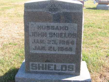 SHIELDS, JOHN - Tazewell County, Illinois | JOHN SHIELDS - Illinois Gravestone Photos
