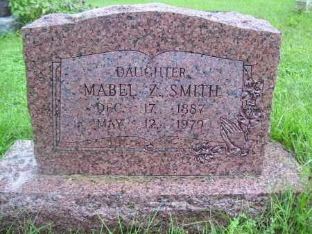 SMITH, MABEL Z - Tazewell County, Illinois | MABEL Z SMITH - Illinois Gravestone Photos