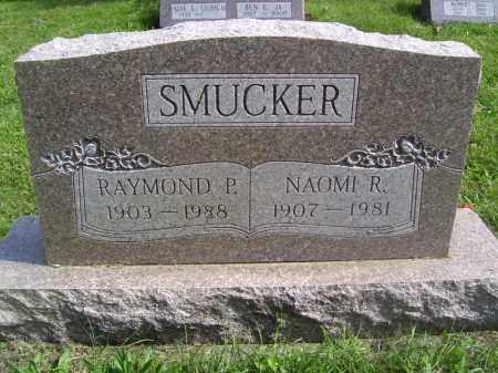 SMUCKER, RAYMOND P - Tazewell County, Illinois | RAYMOND P SMUCKER - Illinois Gravestone Photos