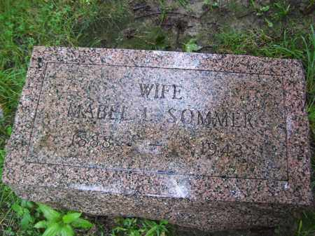SOMMER, MABEL L - Tazewell County, Illinois | MABEL L SOMMER - Illinois Gravestone Photos