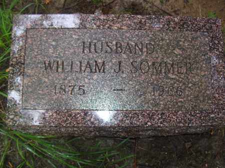 SOMMER, WILLIAM J - Tazewell County, Illinois | WILLIAM J SOMMER - Illinois Gravestone Photos