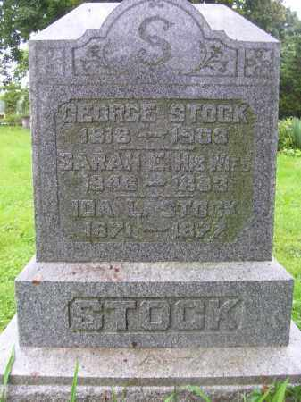 STOCK, GEORGE - Tazewell County, Illinois | GEORGE STOCK - Illinois Gravestone Photos