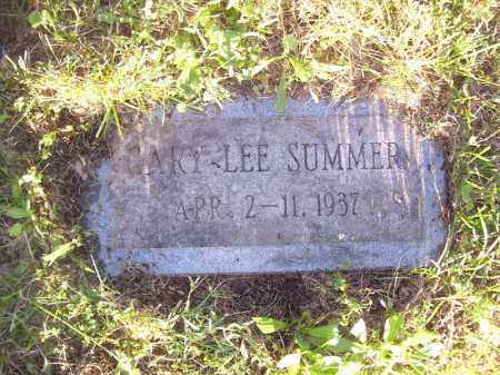 SUMMER, GARY LEE - Tazewell County, Illinois | GARY LEE SUMMER - Illinois Gravestone Photos