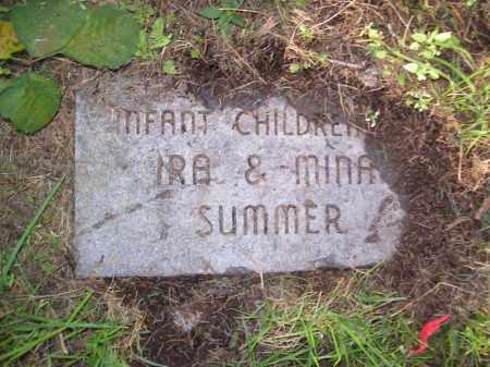 SUMMER, INFANT CHILDREN - Tazewell County, Illinois | INFANT CHILDREN SUMMER - Illinois Gravestone Photos