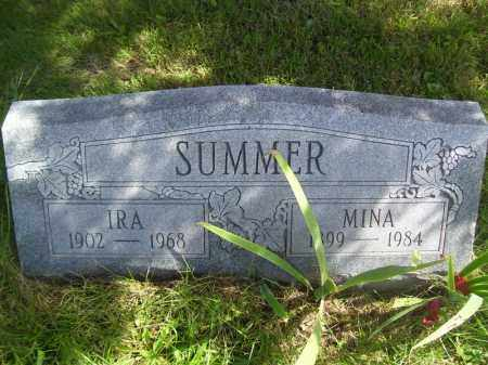 SUMMER, MINA - Tazewell County, Illinois | MINA SUMMER - Illinois Gravestone Photos
