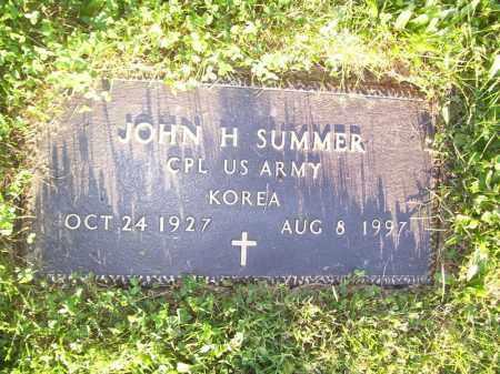 SUMMER, JOHN H - Tazewell County, Illinois | JOHN H SUMMER - Illinois Gravestone Photos