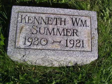 SUMMER, KENNETH WILLIAM - Tazewell County, Illinois | KENNETH WILLIAM SUMMER - Illinois Gravestone Photos