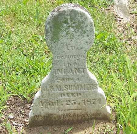 SUMMERS, INFANT - Tazewell County, Illinois | INFANT SUMMERS - Illinois Gravestone Photos