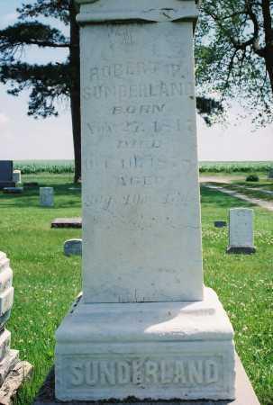 SUNDERLAND, ROBERT PRATT - Tazewell County, Illinois | ROBERT PRATT SUNDERLAND - Illinois Gravestone Photos