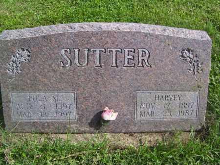 SUTTER, LULA M - Tazewell County, Illinois | LULA M SUTTER - Illinois Gravestone Photos