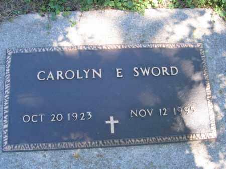 SWORD, CAROLYN E - Tazewell County, Illinois   CAROLYN E SWORD - Illinois Gravestone Photos