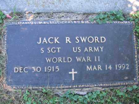 SWORD, JACK R - Tazewell County, Illinois | JACK R SWORD - Illinois Gravestone Photos