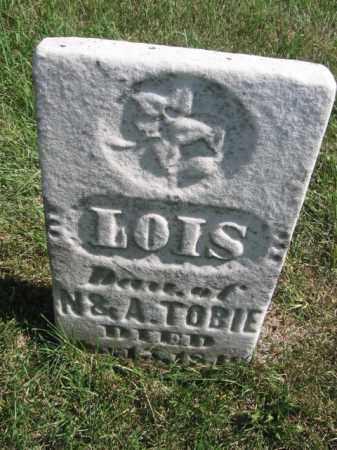 TOBIE, LOIS - Tazewell County, Illinois   LOIS TOBIE - Illinois Gravestone Photos