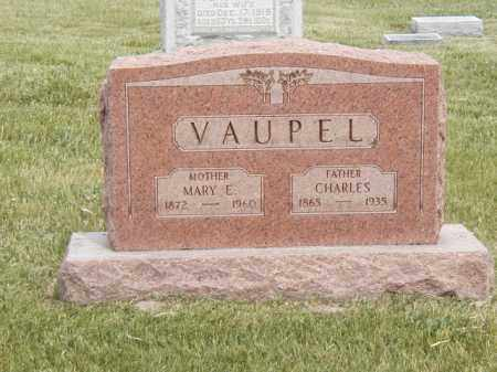 VAUPEL, CHARLES - Tazewell County, Illinois | CHARLES VAUPEL - Illinois Gravestone Photos
