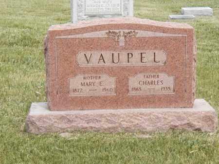 VAUPEL, MARY E - Tazewell County, Illinois | MARY E VAUPEL - Illinois Gravestone Photos