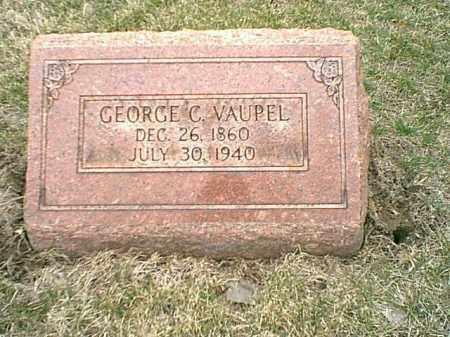 VAUPEL, GEORGE C - Tazewell County, Illinois   GEORGE C VAUPEL - Illinois Gravestone Photos