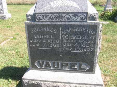 VAUPEL, JOHANNES - Tazewell County, Illinois | JOHANNES VAUPEL - Illinois Gravestone Photos
