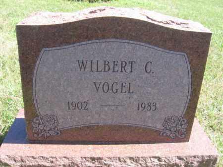 VOGEL, WILBERT C - Tazewell County, Illinois | WILBERT C VOGEL - Illinois Gravestone Photos