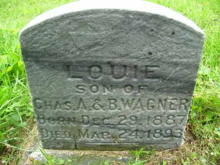 WAGNER, LOUIE - Tazewell County, Illinois   LOUIE WAGNER - Illinois Gravestone Photos