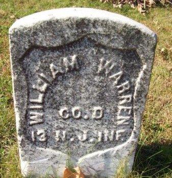 WARREN (CW), WILLIAM - Tazewell County, Illinois | WILLIAM WARREN (CW) - Illinois Gravestone Photos