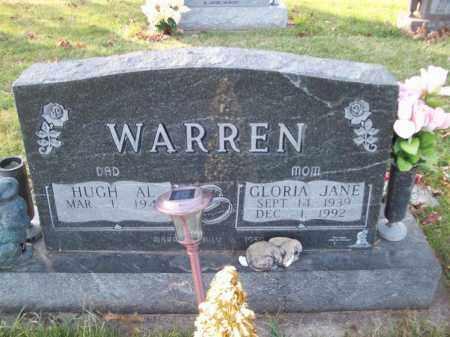 WARREN, GLORIA JANE - Tazewell County, Illinois | GLORIA JANE WARREN - Illinois Gravestone Photos