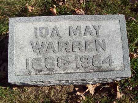 WARREN, IDA MAY - Tazewell County, Illinois | IDA MAY WARREN - Illinois Gravestone Photos