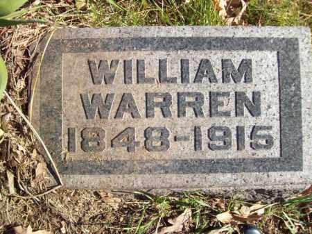 WARREN, WILLIAM - Tazewell County, Illinois   WILLIAM WARREN - Illinois Gravestone Photos