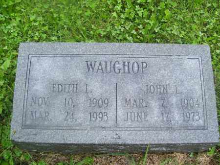 WAUGHOP, EDITH I - Tazewell County, Illinois | EDITH I WAUGHOP - Illinois Gravestone Photos