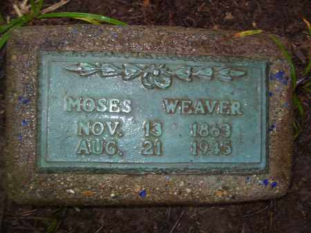 WEAVER, MOSES - Tazewell County, Illinois   MOSES WEAVER - Illinois Gravestone Photos